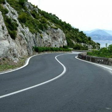 Video View of the Amalfi Coast Road