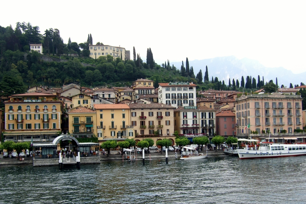 Bellagio, Italy on Lake Como
