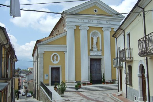 Church of Santa Maria degli Angeli in Colle d'Anchise