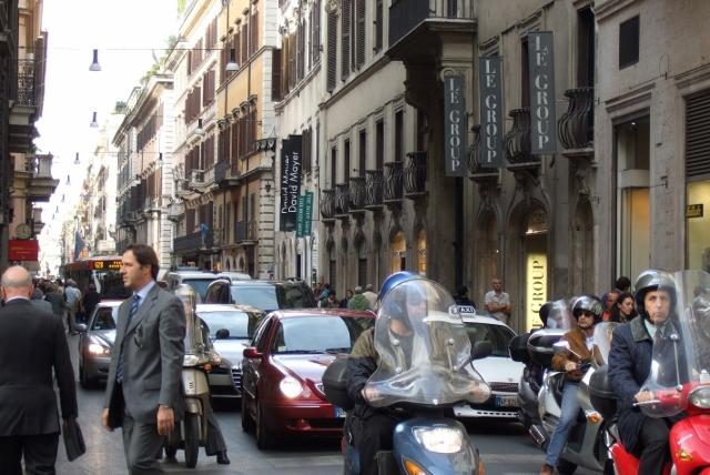 Traffic in Rome