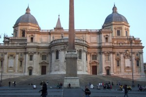 Santa Maria Maggiore Church in Rome Photo by Margie Miklas