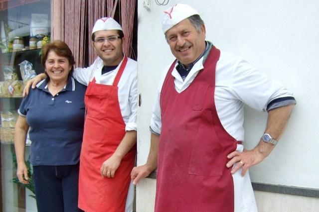 Local butchers in Termini