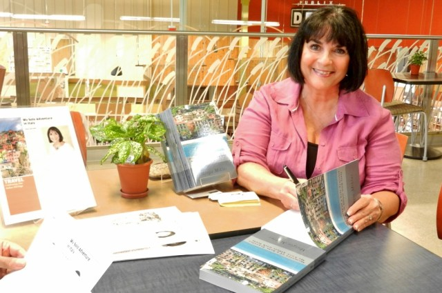 Book signing - Photo by Margie Miklas