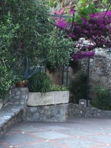 Garden at Hotel Pupetto-PHOTO by Margie Miklas