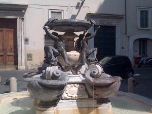 Fontana delle Tartarughe, Tortoise Fountain in RomePhoto by @lovelybird66