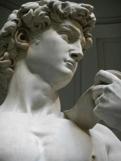 Photo by Margie Miklas Staue of David at Accademia in Florence