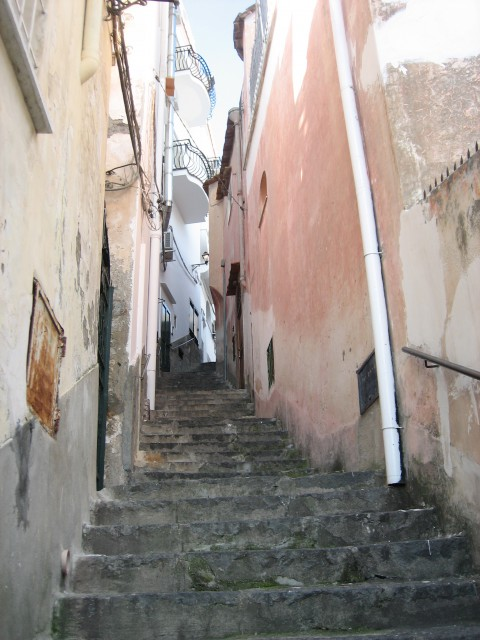 Positano stairs Photo by Catie Costa