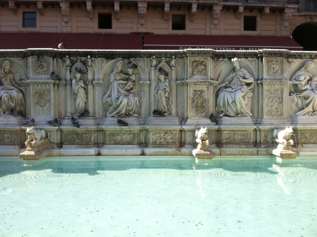 Siena's Fountain of Joy