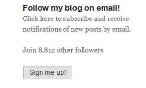 Blog sign up - margeinitaly