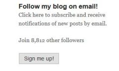 Blog sign up - margeinitaly