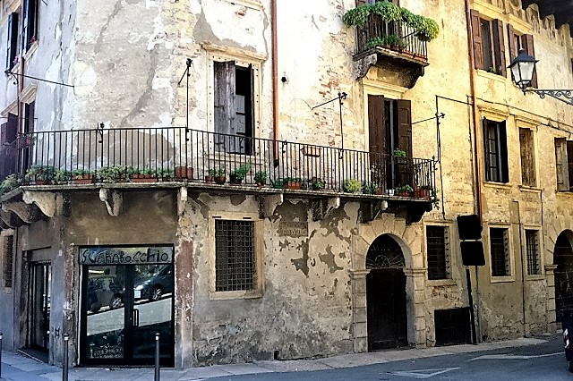 Around the Corner in Verona