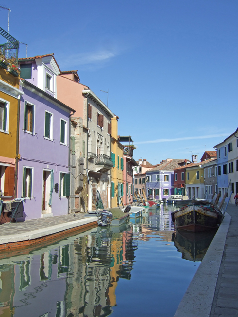 Burano boats Photo by Margie MIklas