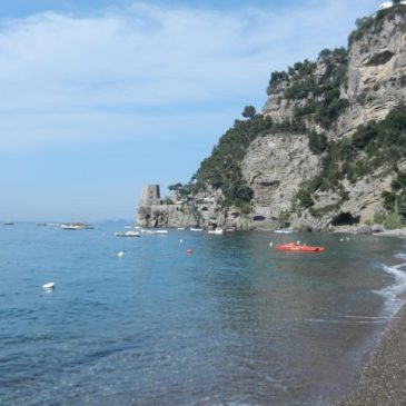 Traveling to Positano
