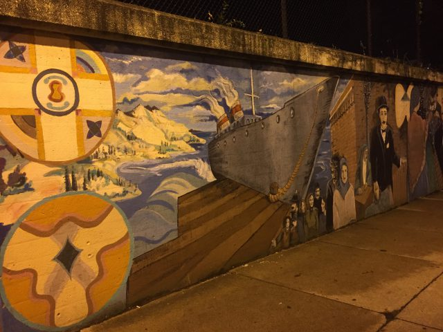 Little Italy Mural Cleveland Photo by Margie Miklas