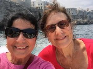 #2SicilianGals in Polignano a Mare Photo by Margie Miklas
