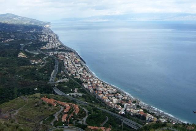 Savoca in Sicily View of Coastline Photo by Margie Miklas