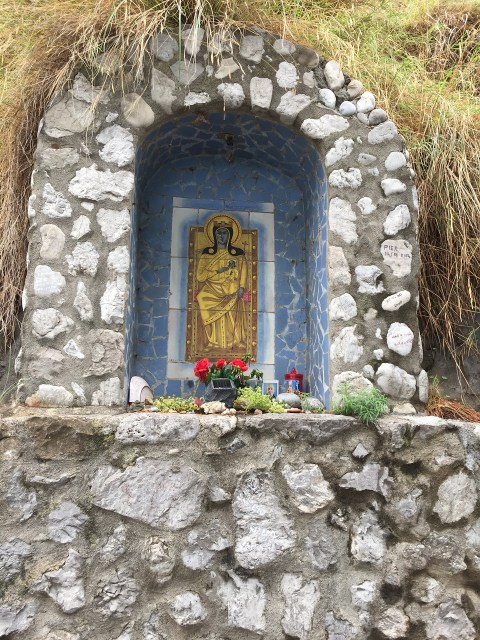 Positano shrine Photo by Margie Miklas