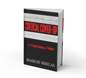 Critical Cover-Up book Photo by Margie Miklas