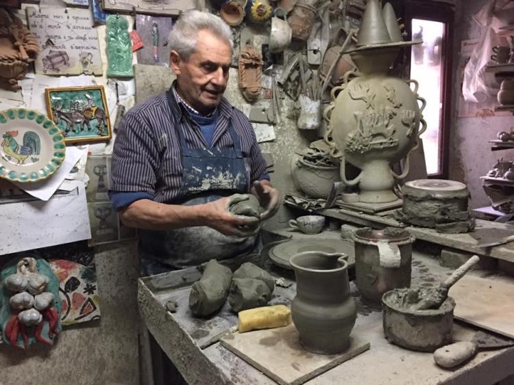 Artisans in Vietri Photo by Margie Miklas