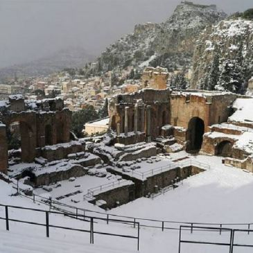 Winter Storms Blanket Italy in Snow