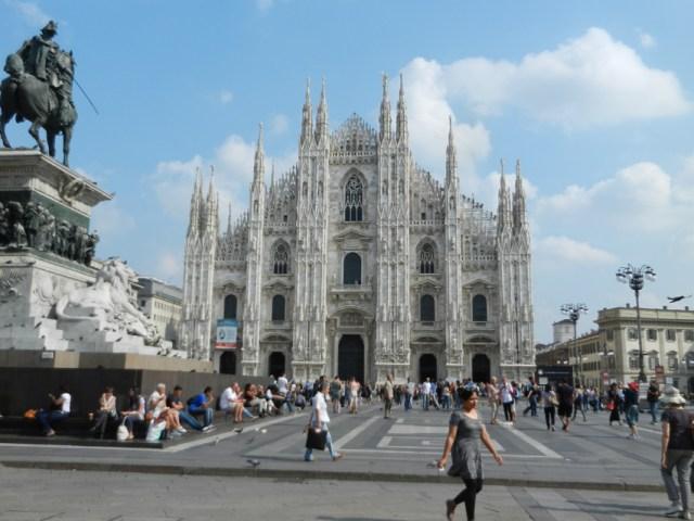 Piazza del Duomo MIlan Photo by Margie Miklas