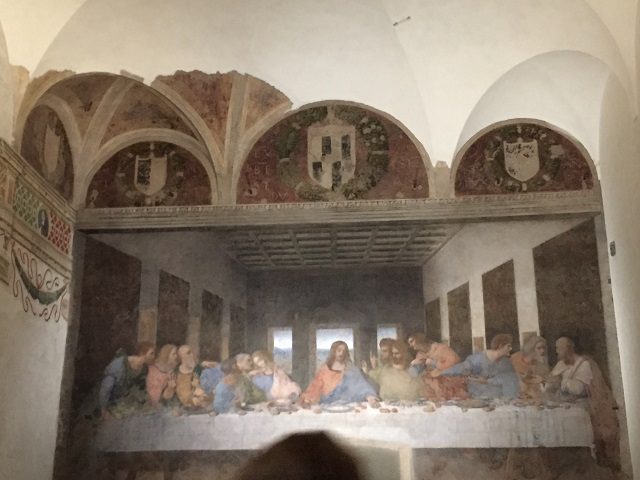 last-supper-fresco Photo by Margie Miklas