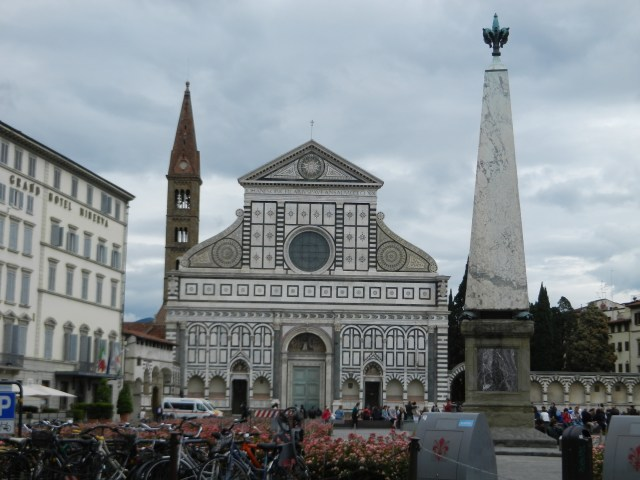 Piazza Santa Maria Novella in Florence Photo by Margie Miklas