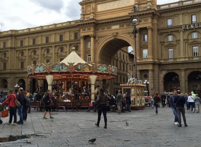 Carousel in Florence Photo by Margie Miklas