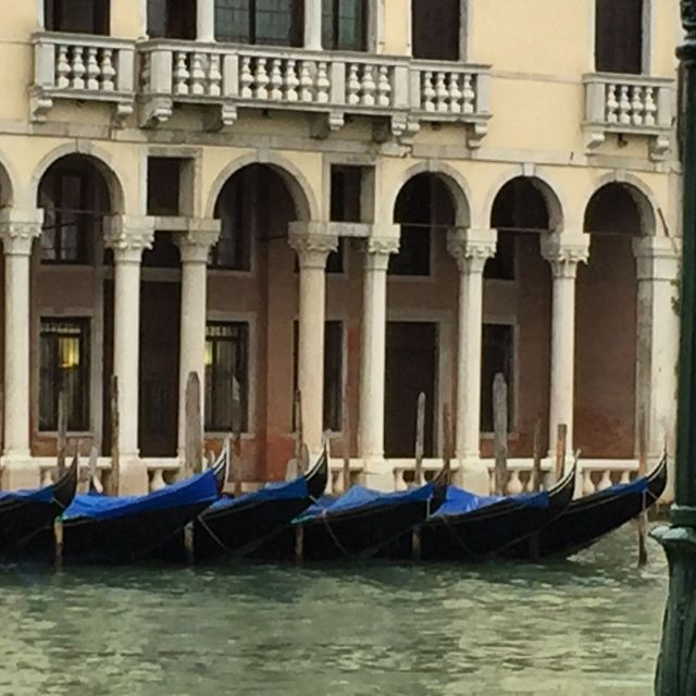 VENICE BLUE GONDOLAS pHOTO BY MARGIE MIKLAS