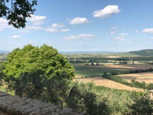 Montestigliano view Photo by Margie Miklas