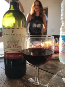 Wine Tasting at Montestigliano photo by Margie Miklas