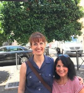 Margie and Daniela Photo by Margie Miklas