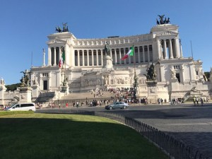 Vittorio Emanuele II Monument Rome Photo by Margie Miklas