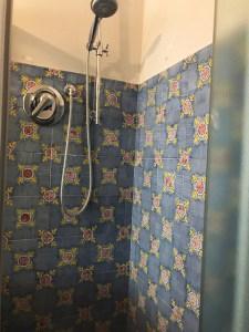 Palazzi Donati shower Photo by Matgie Miklas