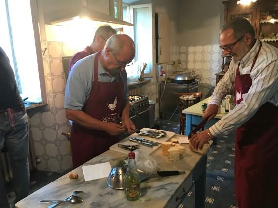 Palazzo Donati Padlot in kitchen Photo by Margie Miklas