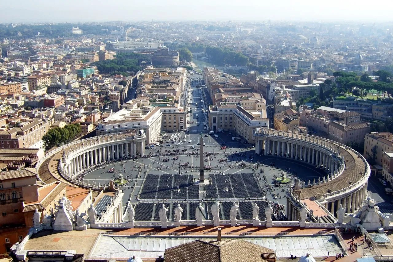 Climbing St Peter's Dome in Rome
