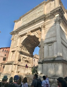 Rome Arch of Titus photo by Margie Miklas