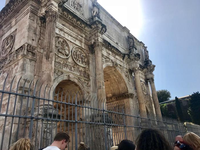 Rome Circus Maximus and Umbrella Pines Photo by Margie Miklas