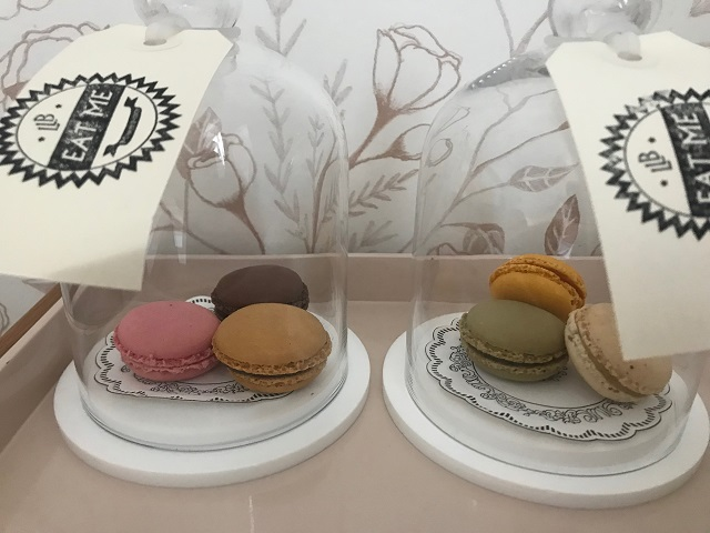 Hotel Le Lapin Blanc Paris macarons Photo by Margie Miklas