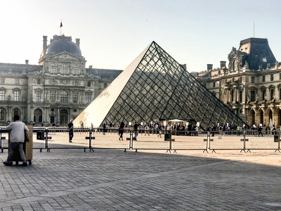 Impressions of Paris Louvre photo by Margie Miklas