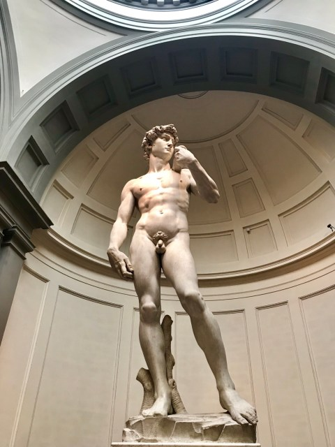 David at the Accademia in Florence