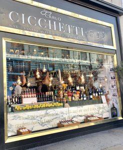 Carlo Cicchetti Restaurant London Photo by Margie Miklas