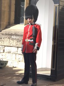 Tower of London Royal Guard photo by Margie Miklas