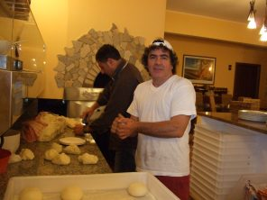 Pizza makers in Sicily photo by Margie Miklas