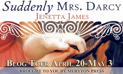 Blog Tour Stop! Suddenly Mrs. Darcy by Jenetta James