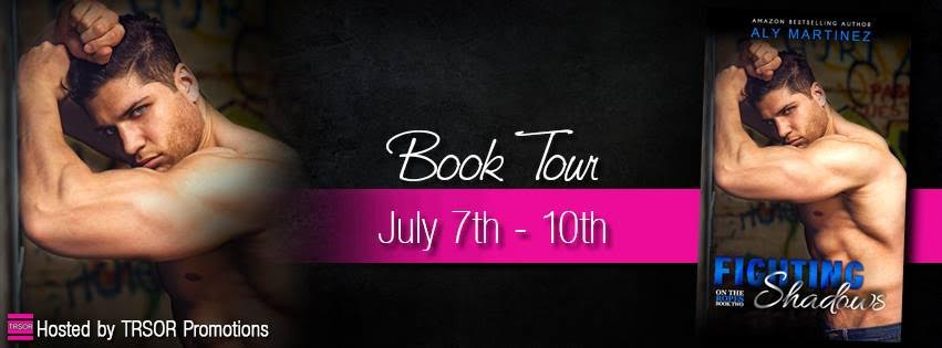 Review & Excerpt!  FIGHTING SHADOWS by Aly Martinez