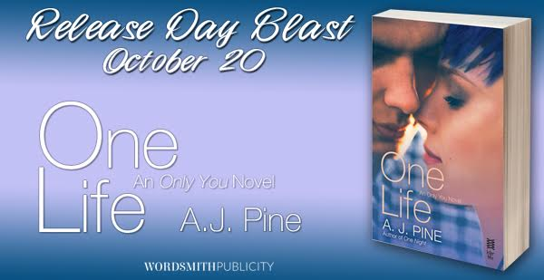 Happy Release Day! ONE LIFE by A.J. Pine!