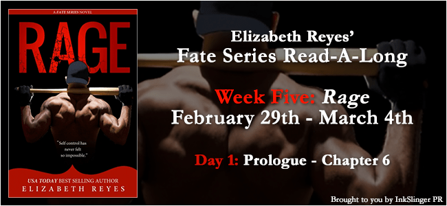 READ-A-LONG! RAGE by Elizabeth Reyes