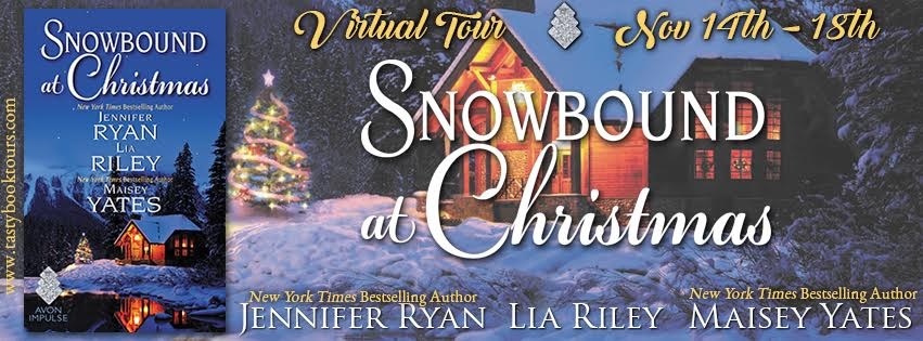 SNOWBOUND AT CHRISTMAS Holiday Anthology Jennifer Ryan, Lia Riley & Maisey Yates