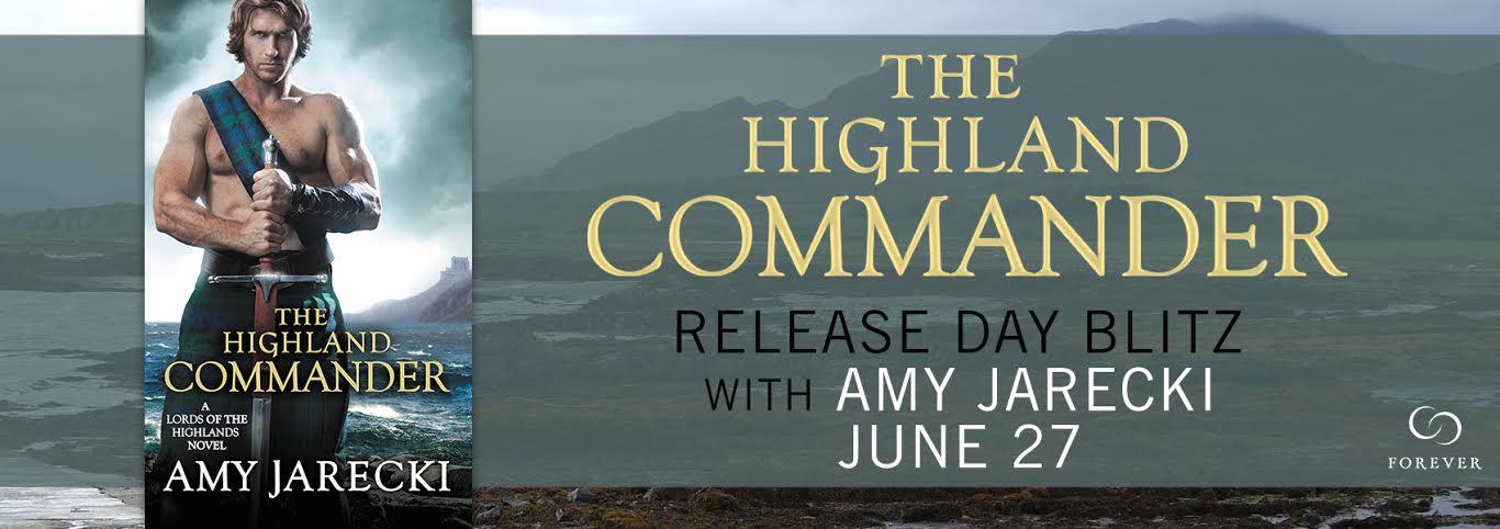 THE HIGHLAND COMMANDER  by: Amy Jarecki